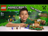 LEGO MINECRAFT - Set 21114 THE FARM - Unboxing, Review, Time-Lapse Build