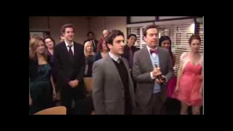 The Office US - Goodbye song to Michael Scott