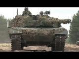 Норвежские танки Леопард 2A4 и БМП CV9030N на Восточном фронте  Учения НАТО в Польше