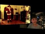 Дядя в роли Санта-Клауса (1.40)