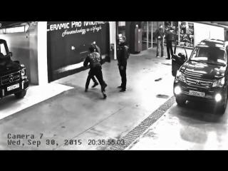 Нетипичная Махачкала Тимати и Адам Яндиев дерутся на парковке уличная драка
