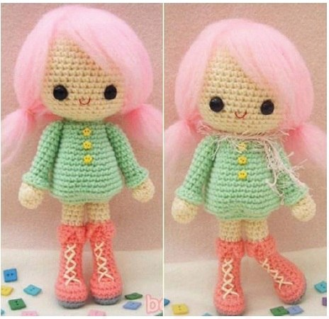 Вязание кукол своими руками