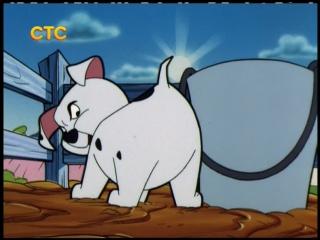 101 далматинец (101 Dalmatians) - На болоте + Свинопес (1 Сезон, 13 Серия)