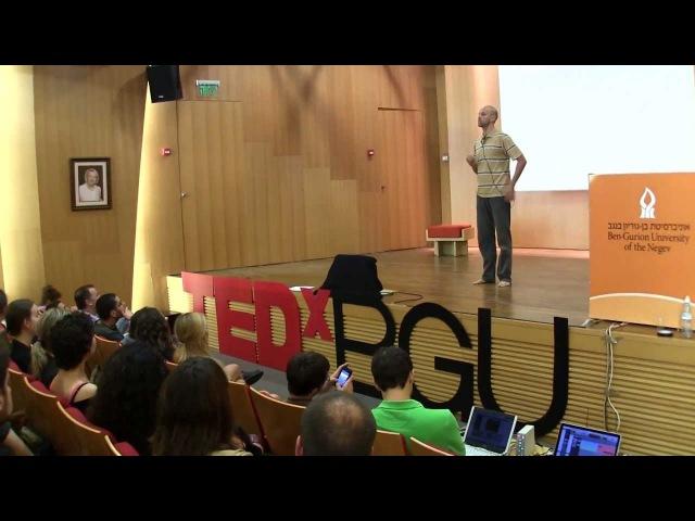 Contact Improvisation: An Intuitive, Non-Verbal and Intimate Dialogue: Itay Yatuv at TEDxBGU