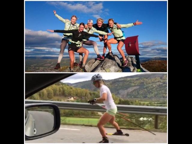"""Ingvild Flugstad Østberg on Instagram: """"Idyll 👆🏼 og litt mindre idyll 👇🏼 Kronet en hard samling på Kvitfjell med 9km testløp motbakke. For beskrivelse av følelsen etter 1 av 9km,…"""""""