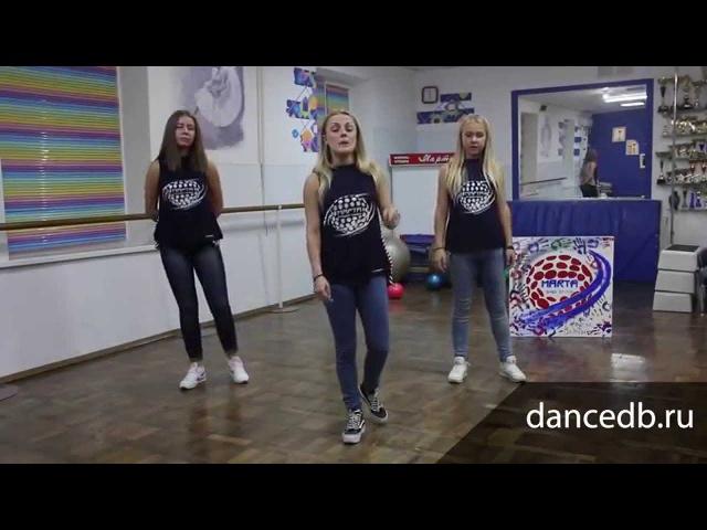 Видео уроки дэнсхолл (dancehall) №3