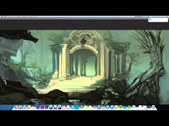 Digital painting techniques, value planning (BST ep1)