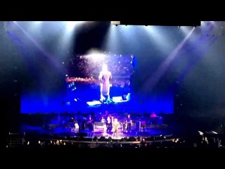 Robbie Williams Intro - First time in Slovakia 2015 - Live