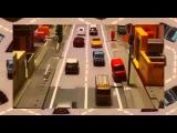 Город Машинок Машинки играют сами по себе Эвакуатор пожарная машина скорая помощь