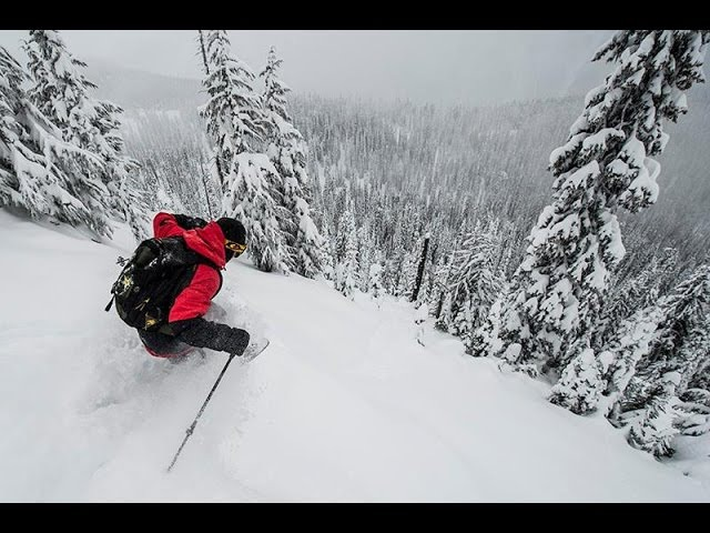 Tanner Hall, JP Auclair, Riley Leboe Mustang Powder Segment