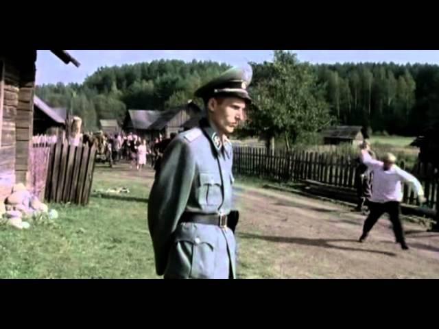 Человек войны (2005) - сцена сожжения белорусской деревни (без склеек)