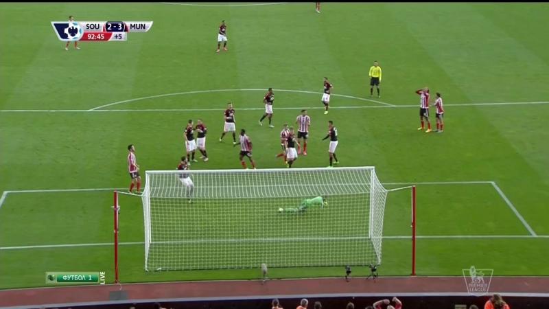 Саутгемптон Манчестер Юнайтед 2 3 90 ' Невероятные сэйвы Давида Де Хеа