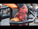 Тренажер на мышцы бедра и ягодиц с Дарьей Чистовой
