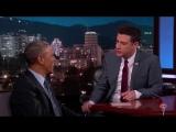 Барак Обама про Порошенко, Яценюка и #АТО на американском ток-шоу (30.05.2015)