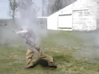 Стрельба из ружья 4 калибра