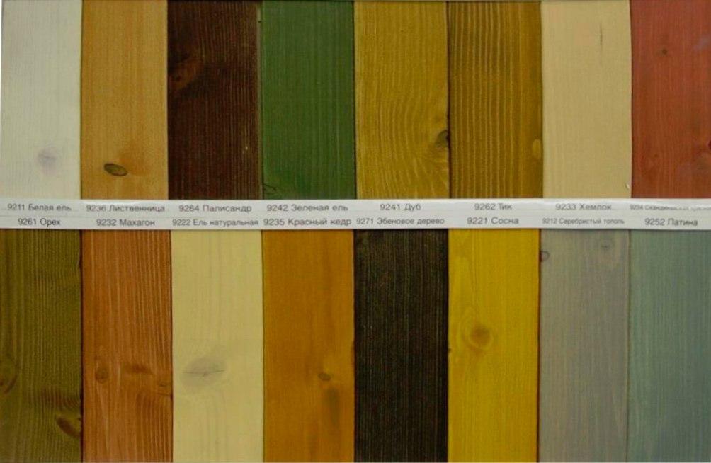 Натуральные краски для дерева - что это и с чем их едят
