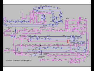 Схема запуска дизеля тепловоза М 2М62