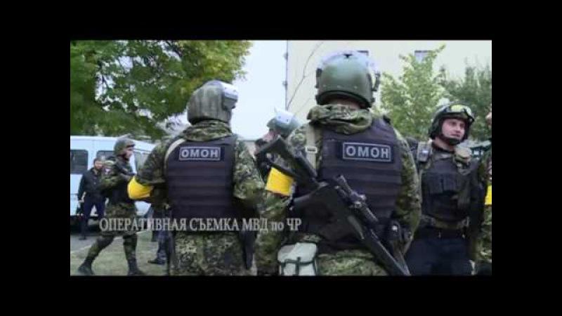 Спецоперация в Старопромысловском р-не 08.10.2015