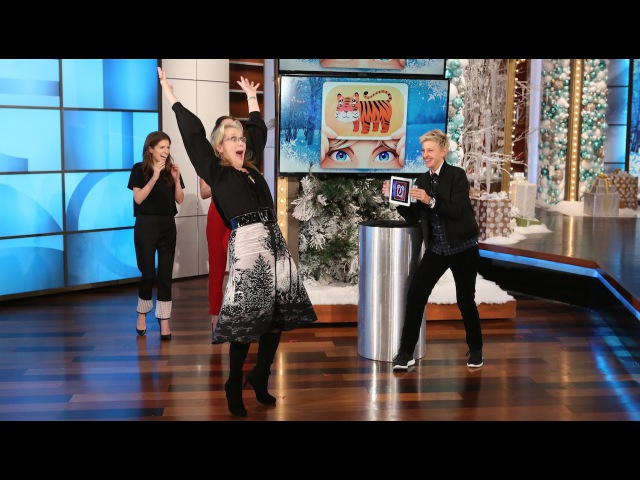 Ellen's Favorite Games: 'Heads Up!' with Meryl Streep, Anna Kendrick, Emily Blunt