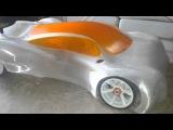 3D Printed RC CAR final shape