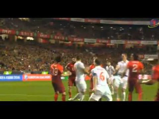 Nemanja Matic Great Bicycle Goal 2-1 ~ Portugal vs Serbia 2015 | Portugal vs Sérvia
