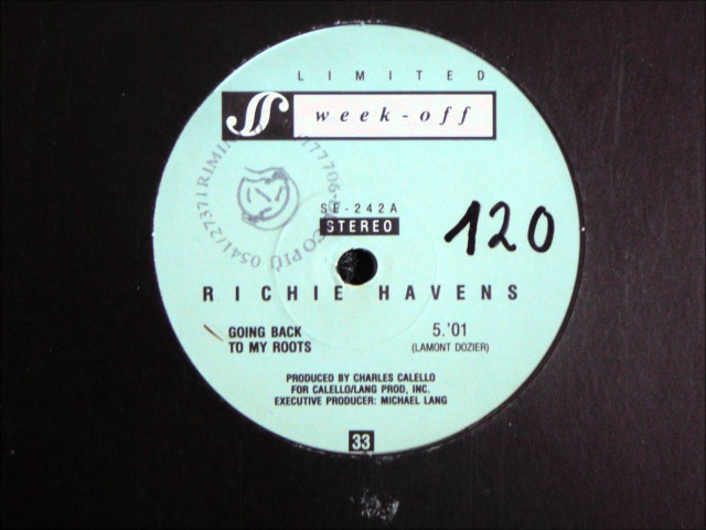 Richie Havens Going Back To My Roots Original 12 inch Version 1980