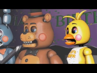 Top 5: Five Nights at Freddy's Songs & Animations (FNAF Funny Moments)