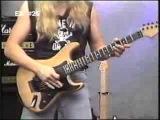 GUITAR METHOD--Eddie Van Halen Guitar Lesson--Curt Mitchell