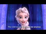 FROZEN - Let It Go Sing-along | Official Disney HD