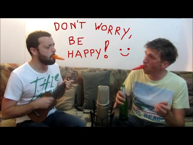 Don't worry,be happy - Ukulele/harmonica/kazoo cover by ToMa
