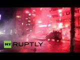 Турция: Столкновения вспыхнули в Стамбуле после взрывов Анкара.