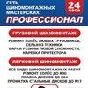 """Сеть Шиномонтажных Мастерских """"ПРОФЕССИОНАЛ"""""""
