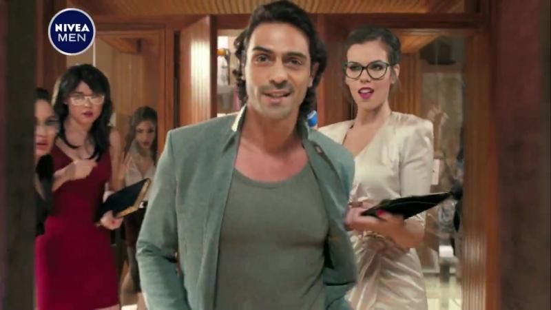 Арджун Рампал в рекламе дезодоранта NIVEA MEN