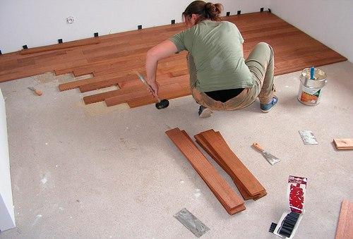 Укладка ламината на неровный деревянный пол: личный опыт 3
