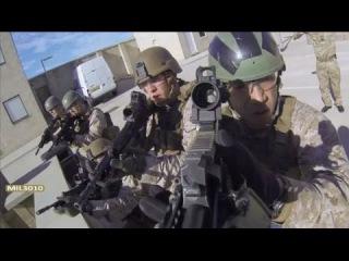 Морская пехота США и Коммандос Великобритании на учениях / U.S. Marines and British Royal Commandos