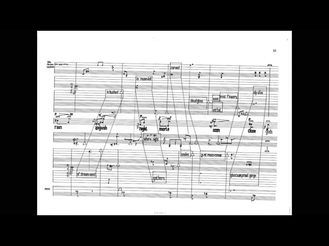 Luciano Berio - Circles w score (for female voice, harp and 2 percussionists) (1960)