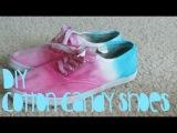 DIY: Cotton Candy Shoes!