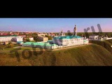 Тобольский кремль и не только с высоты птичьего полета