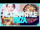 Korean Style Sweet Potato Pizza A low calorie and healthy Pizza | Wengie's Healthy Kitchen Ep 5