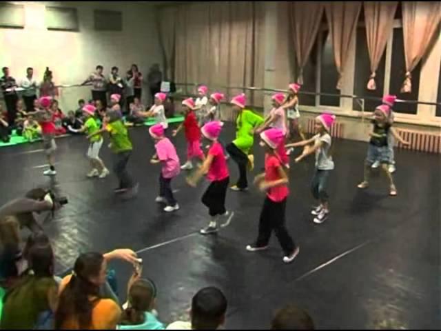 Hip-Hop постановка для детей 7-9 лет. Анна Новикова, Кемерово
