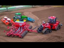 RC Tractors John Deere Case and Fendt at work Siku Farmland in Neumünster Germany