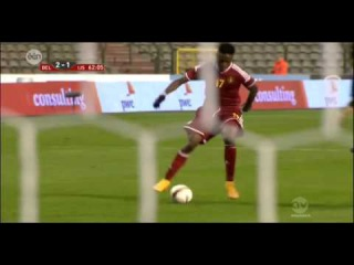 Divock Origi Fantastic Goal - Belgium vs Iceland 2-1 (Friendly Match) 2014