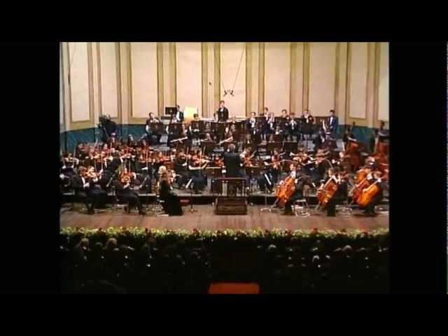 NEC Youth Philharmonic Orchestra; Benjamin Zander, Dvorak, New World Symphony, Finale