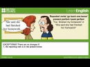Reported statements   Johnny Grammar   Learn English   British Council