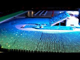 Màn trình diễn Kỷ lục thế giới về hiệu ứng 3D domino - Phần 12