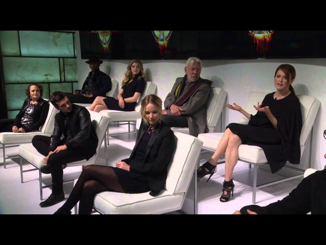 The Hunger Games: Mockingjay Part 1 - Press Conference NYC
