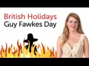 British Holidays Guy Fawkes Day