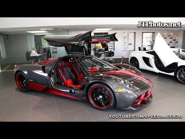 First Pagani Huayra delivered in Greenwich