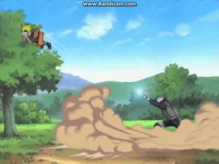 Kakashi vs Naruto funny moment