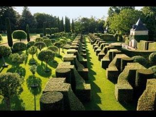 Поместье Eyrignac. Парк Apremont. Зачарованные сады